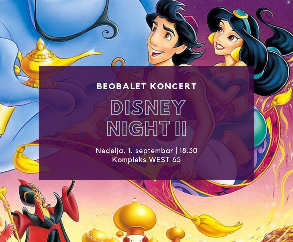 BeoBalet koncert Dizni za decu